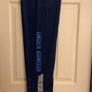 Under Armour - Youth Medium- Loose Warm up pants